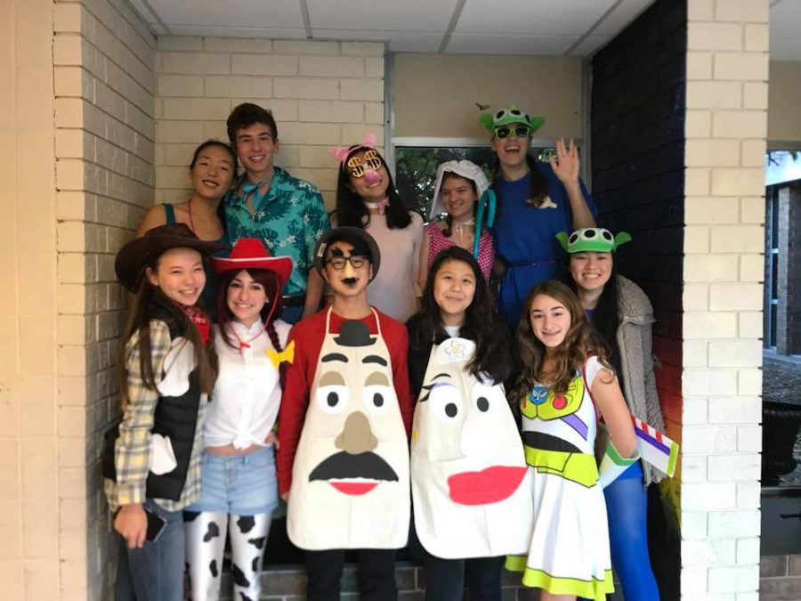 Winning Group Costume: Toy Story Characters