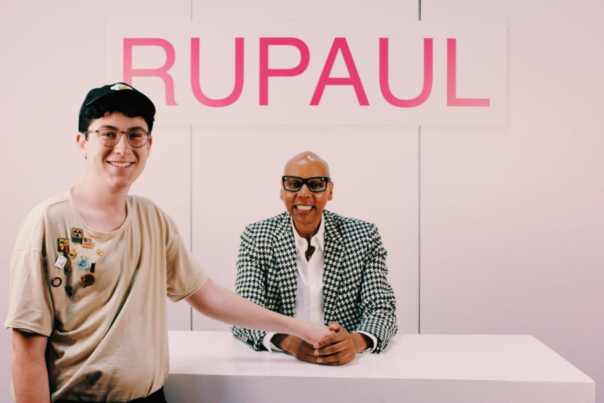 Evan Hecht and RuPaul at RuPaul's Dragcon NYC