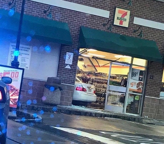 Accident at 7-Eleven