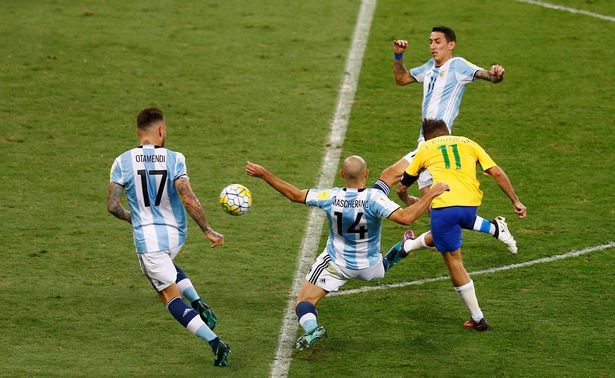 Brazil+vs.+Argentina+in+2018+World+Cup+qualifiers