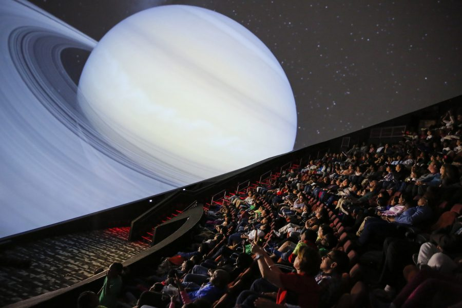 The Jennifer Chalsty Planetarium at Liberty Science Center