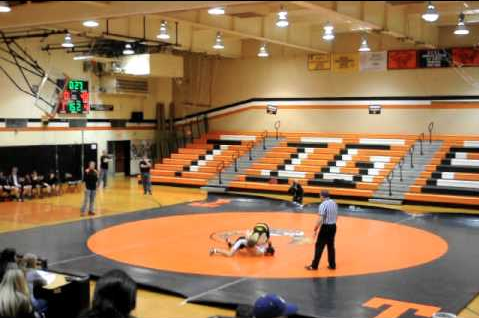 A Look Inside the Wrestling Room