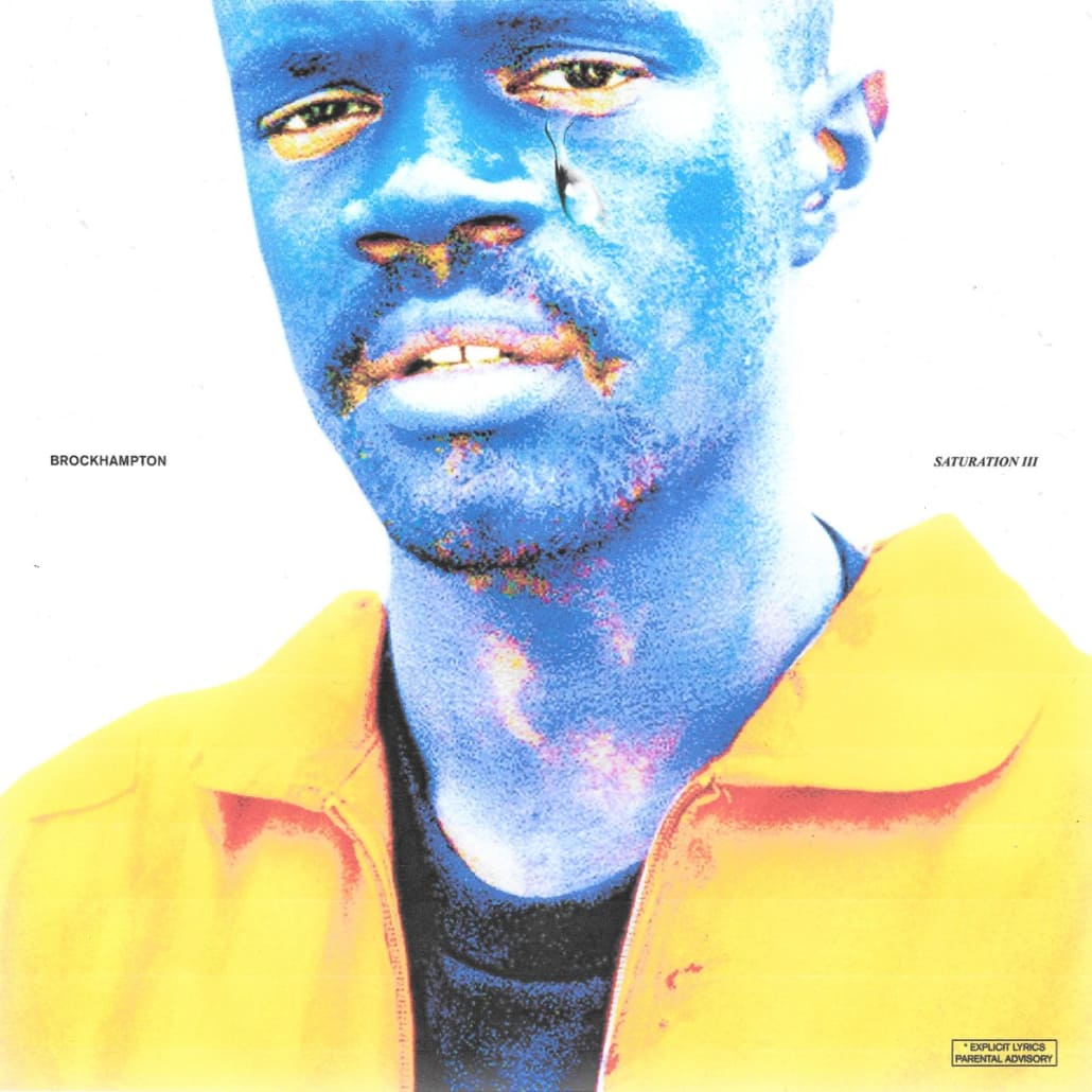 SATURATION 3 ALBUM COVER
