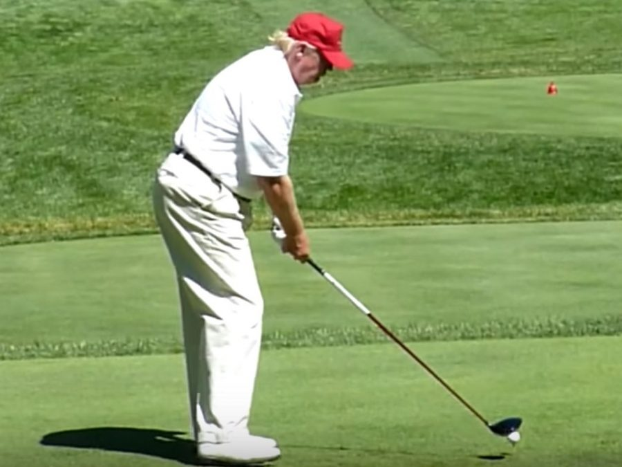 A President Who Goes Golfing in the Midst of Chaos