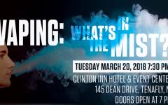 Clinton Inn Hosts Vaping Lecture