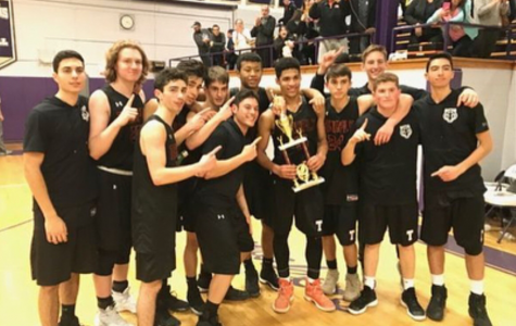 Seniors Say Goodbye to Tenafly Hoops
