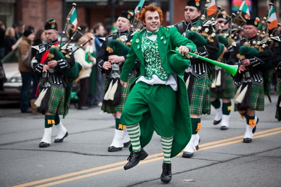 St. Patricks Day Parade, New York
