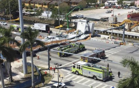 Pedestrian Bridge Collapses at Florida International University
