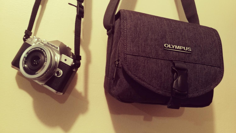 Olympus OM-D E-M10 Mark III with Camera Bag