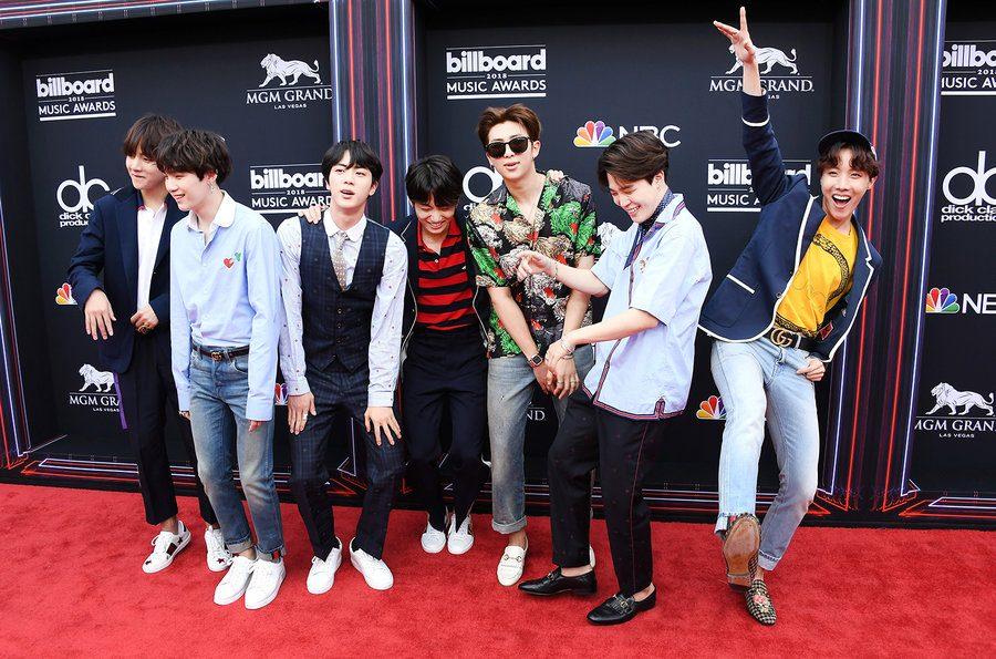BTS Awes Audience at Billboard Music Awards