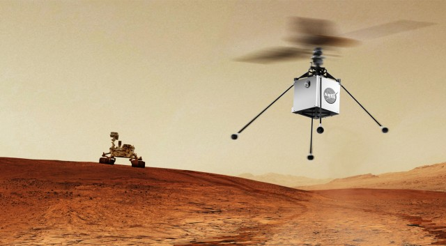 Helicopters in Space: A New Mars Mission from NASA