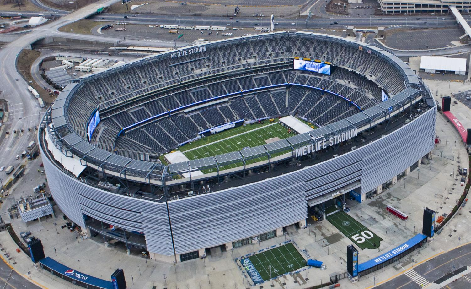 Metlife Stadium, home of the Jets and the Giants