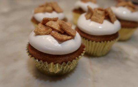 How to Make Cinnamon Toast Crunch Cupcakes