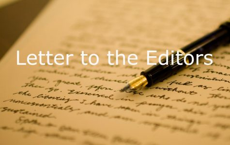 Letter to the Editors