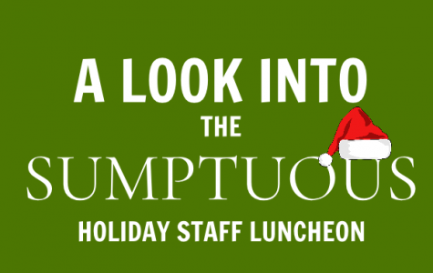 A Look into the Sumptuous Staff Luncheon