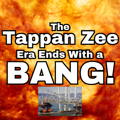 The Tappan Zee Era Ends with a Bang