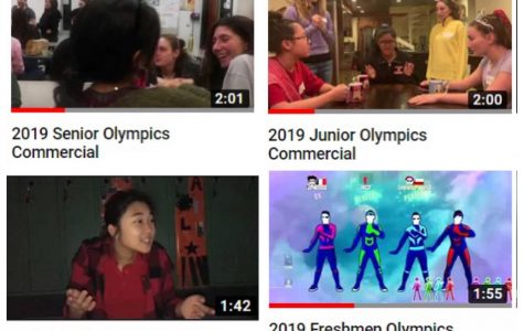Commercial Breaks: The 40th Annual THS Olympics Class Commercials