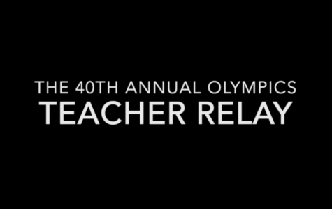 The 40th Annual Olympics Teacher Relay