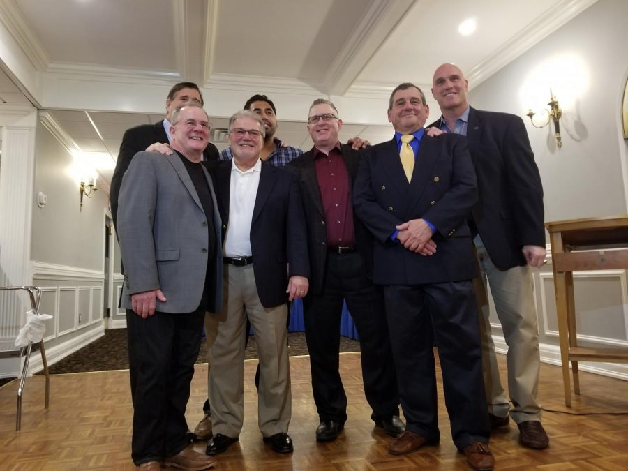 """Coach """"Sutty"""" Sutera Inducted into Saddle Brook Wrestling Hall of Fame"""