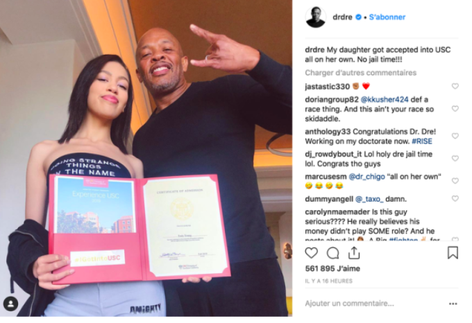 Dr. Dre Throws Shade at the College Admissions Scandal