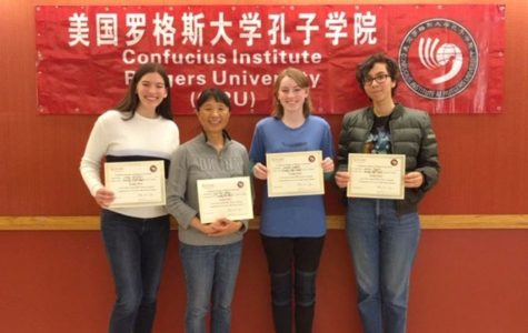 Three Senior Non-Native Speakers Win Rutgers Chinese Competition