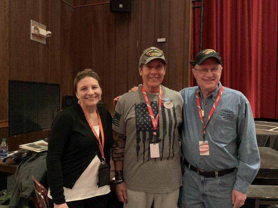 Vietnam Veterans Visit Tenafly High School