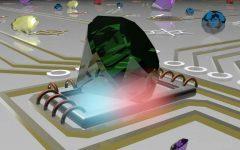 Measuring Temperature at the Nanoscale with Quantum Lighting