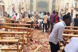 A picture of a church that was blown up by the suicide bombers on Easter Sunday. Credit to 5 Pillars News