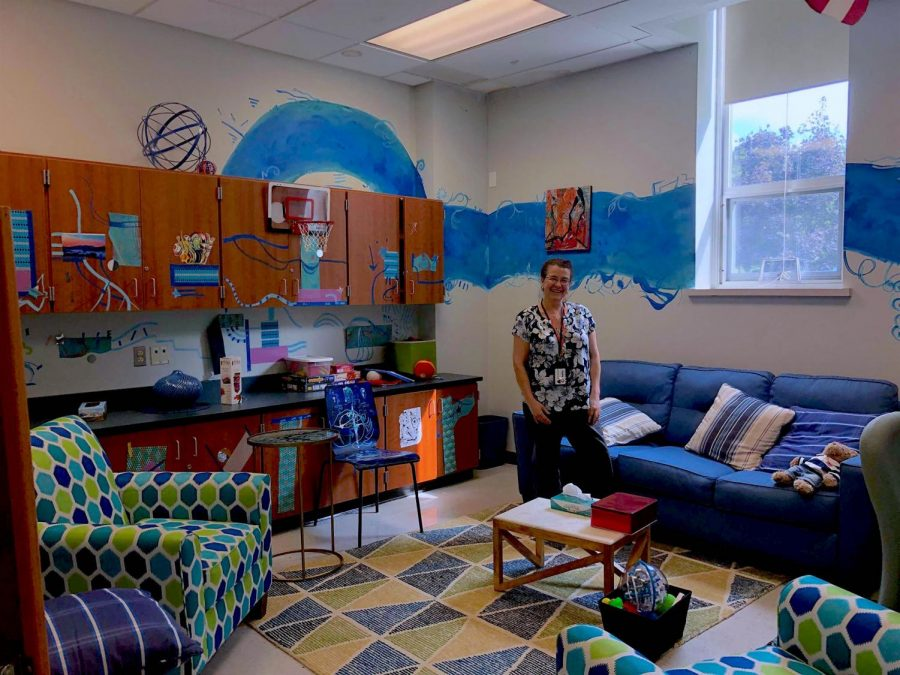 The Blue Room is a safe space for students.