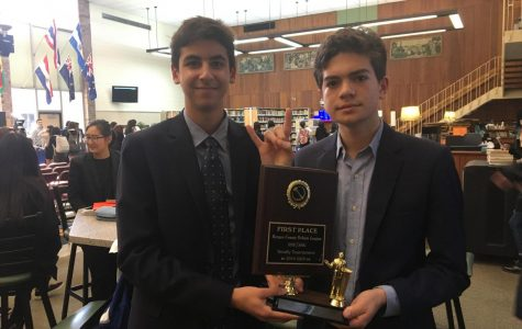 Varsity Debaters Compete in First Tournament of the Season