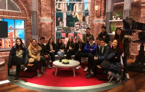 Journalism Class Visits CNN