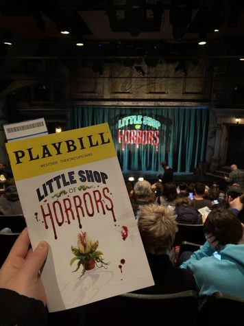 Little Shop of Horrors is currently playing at the Westside Theatre!