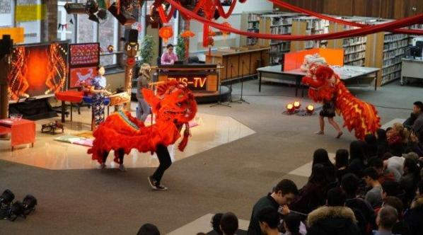 Tenafly High School's Lunar New Year Celebration
