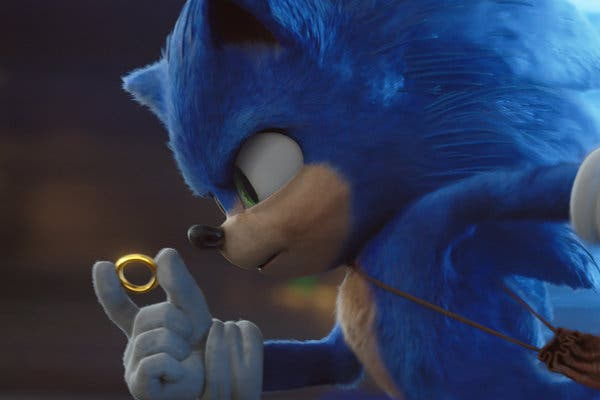 (Photo Credit: nytimes.com) Still image of Sonic