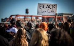 A Black Lives Matter protest in Des Moines, Iowa. One of the many that occurred around the world.