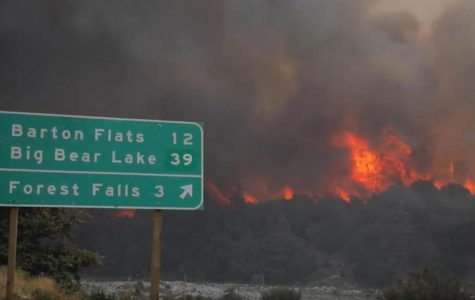 The San Bernardino County Fire Department attempts to Combat the El Dorado Fire