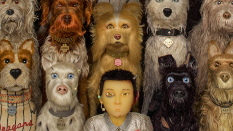 Poster image featuring most of the dogs and Atari Kobayashi