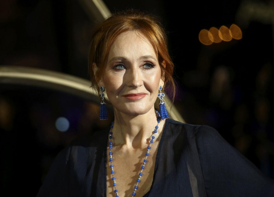 J.K. Rowling at a film premiere in London in 2018. Joel C Ryan / AP file