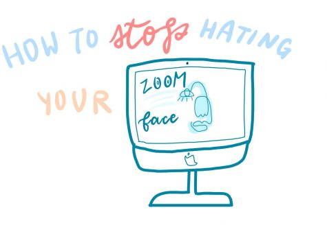 "How to stop hating your ""Zoom face"" 