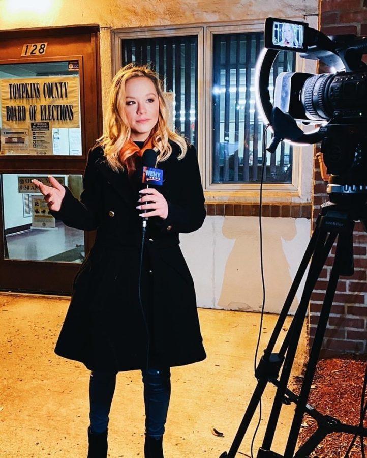 THS Alumna Finds Success As Multimedia Journalist