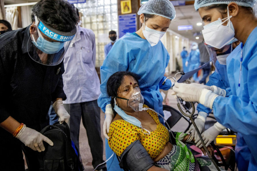 Biden Imposes Travel Ban after India Breaks Record for Coronavirus Cases