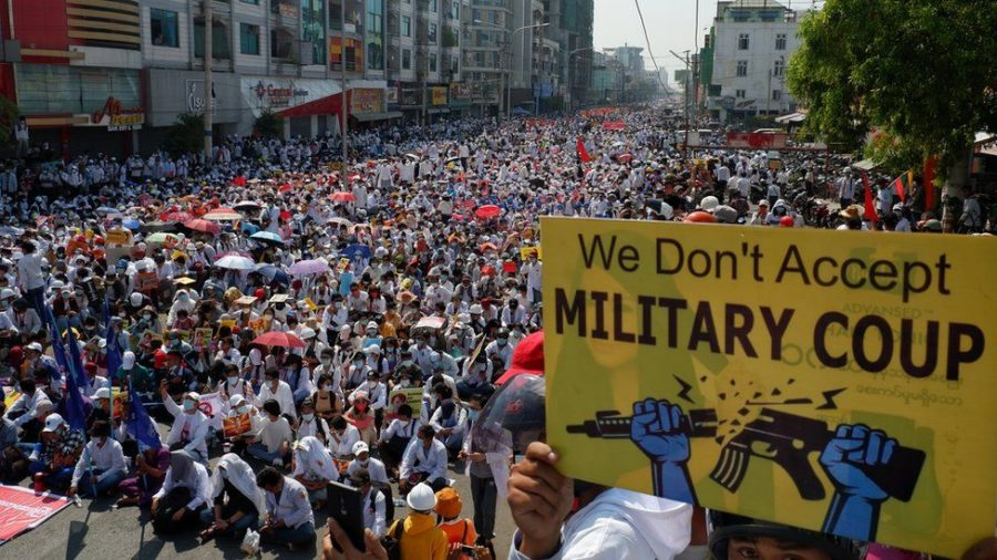 Myanmar Protests Go Largely Unreported