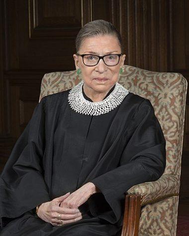 Ruth Bader Ginsburg Photo; Creative Commons